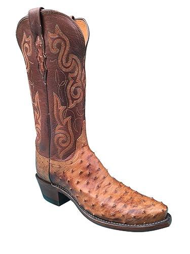 Lucchese Contrast Stitch Cowboy Boot 0BgeMQt