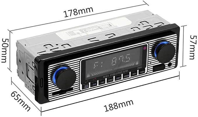 Bluetooth Elektronisches Autoradio Stereo Digital Media Player Smart Player Bluetooth Retro Mp3 Fm Autozubehör Baumarkt