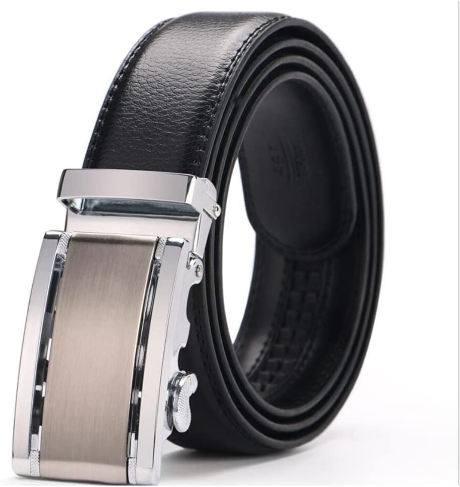 XUEXUE Mens Belt,Casual Leather,Comfortable Work Active Basic Leather,Business Adjustable Casual Formal Belts,Great for Jeans /& Casual Wear /& Cowboy Wear /& Work Clothes Uniforms