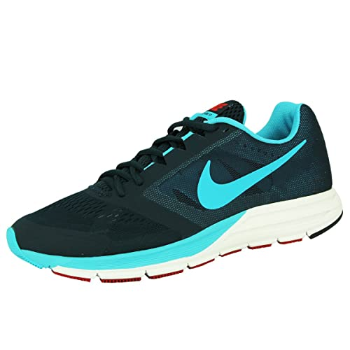 2e6502b8d73310 Nike Men s Zoom Structure 17 Navy Red Blue 8 Medium (D)  Amazon.ca ...