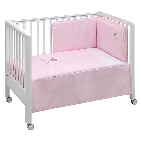 Cambrass Crown - Juego de colcha y protector, color rosa ...