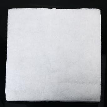 EsportsMJJ Acuario Tanque De Peces Estanque Sumidero Recipiente Filtro Esponja Espuma Pad Blanco 50Cm