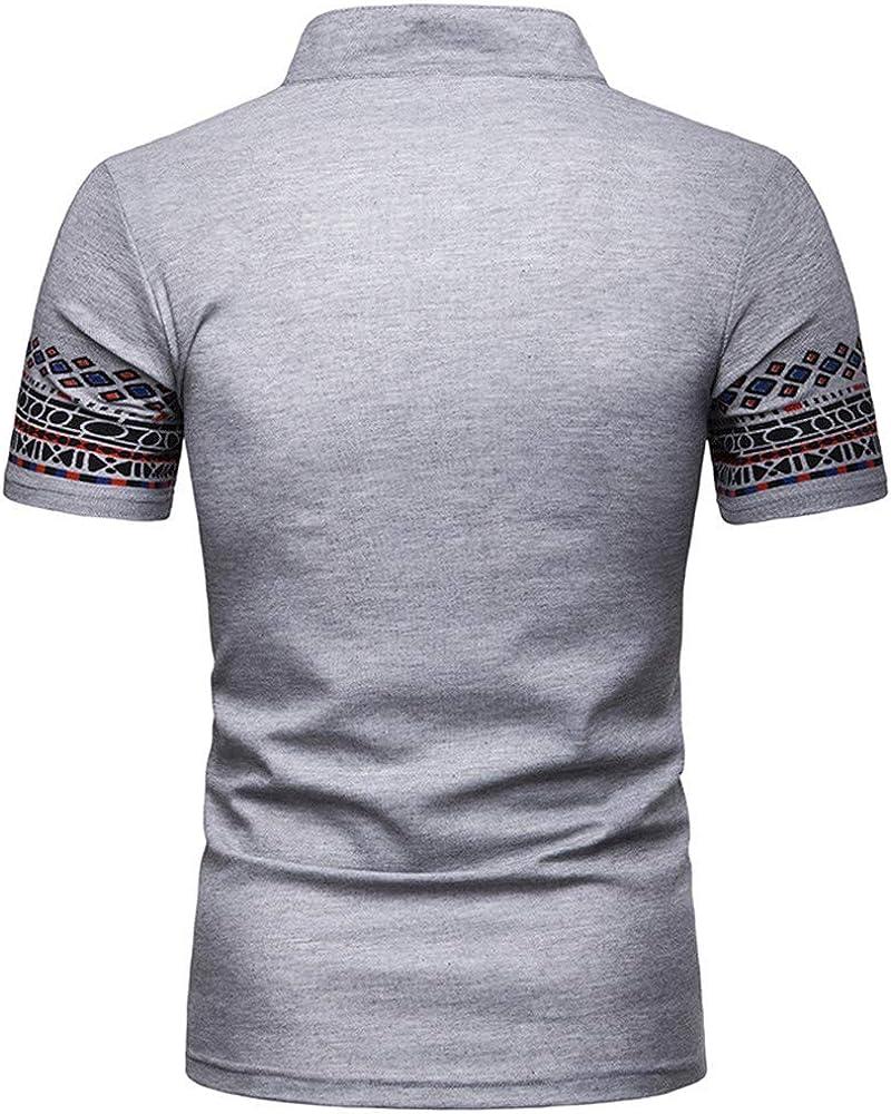 YEBIRAL Camiseta Rayas Negras y Blancas Manga Corta Polos Manga Corta Camiseta Hombre Casual Moda Slim Deporte Polo Negro Hombre: Amazon.es: Ropa y accesorios