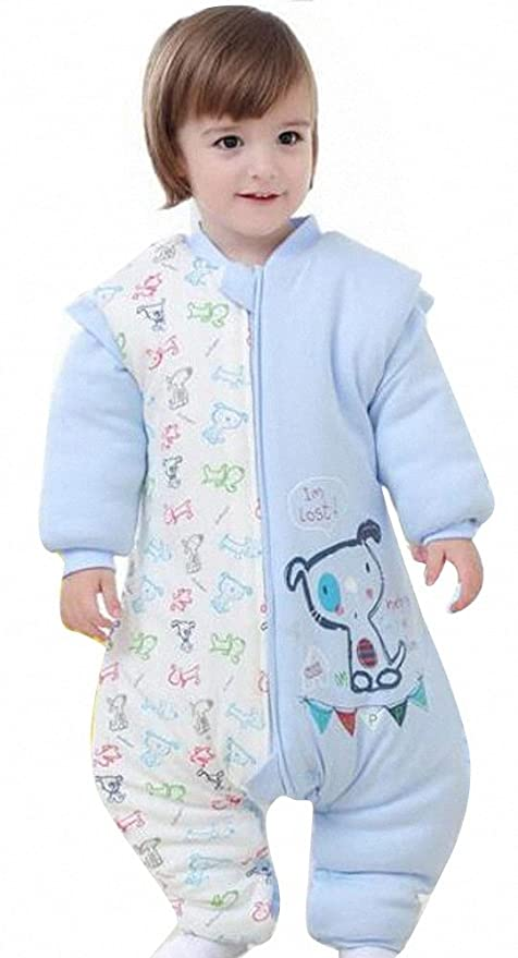 Happy Dream saco para bebé invierno manga larga – Garcon – niña pijama niños Confort combinación