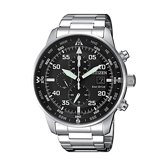 selezione migliore 0aaa3 040b1 Orologio Citizen Crono Aviator CA0690-88E