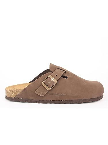 modelli di grande varietà autorizzazione scarpe originali GRUNLAND, Robi CB7033, Sabot, Nubuk