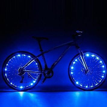 Luces Yiiya, para rueda de bicicleta, ultrabrillantes, 2 modos de ...
