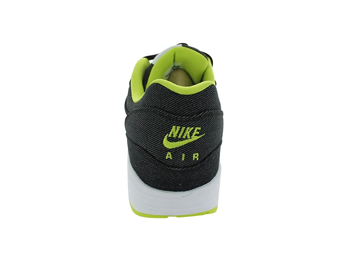 new styles 950ba 2dd81 Amazon.com   Nike Men s AIR MAX 1 PRM RUNNING SHOES 11.5 Men US (BLACK WHITE  CYBER COOL GREY)   Road Running