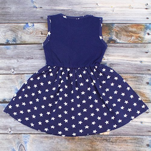 1b6d48d52dc Unique Baby Girls Mermaid in The USA Sleeveless 4th July Dress ...