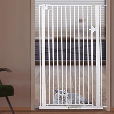 Barrera seguridad Cat Gate - Montaje estrecho a presión - 120 cm Puertas para bebés extra altas con