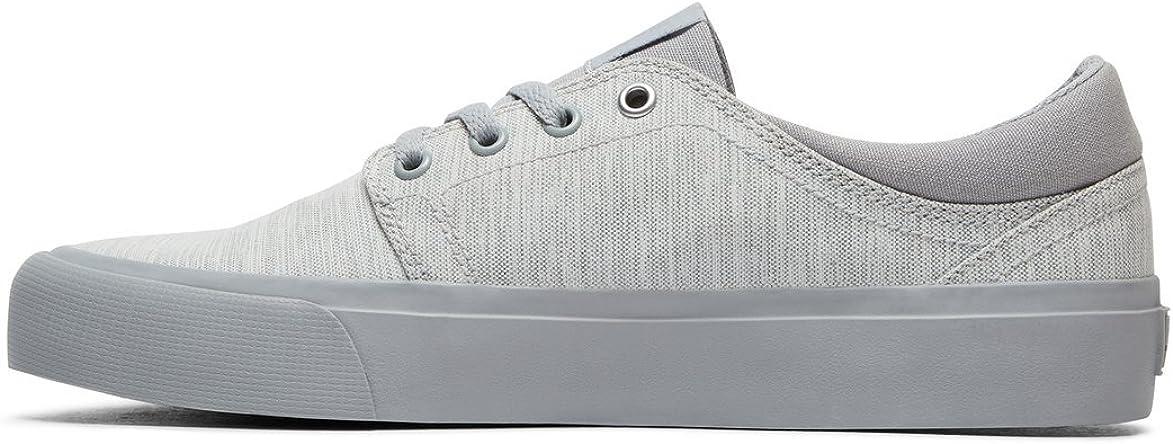 DC Trase TX SE J Shoe DNM, Zapatillas para Mujer Light Grey