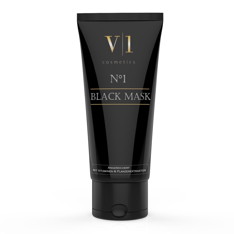 V|1 Cosmetics Mascarilla Exfoliante y Limpiadora para la limpieza profunda (T-Zone) - 50ml | MEJOR CALIDAD | Nueva fórmula| 100% Original | MARCA ALEMANA ...