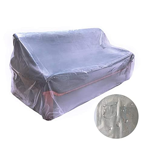 Astounding Amazon Com Akefit Couch Cover Plastic Bag Sofa Cover For Ocoug Best Dining Table And Chair Ideas Images Ocougorg