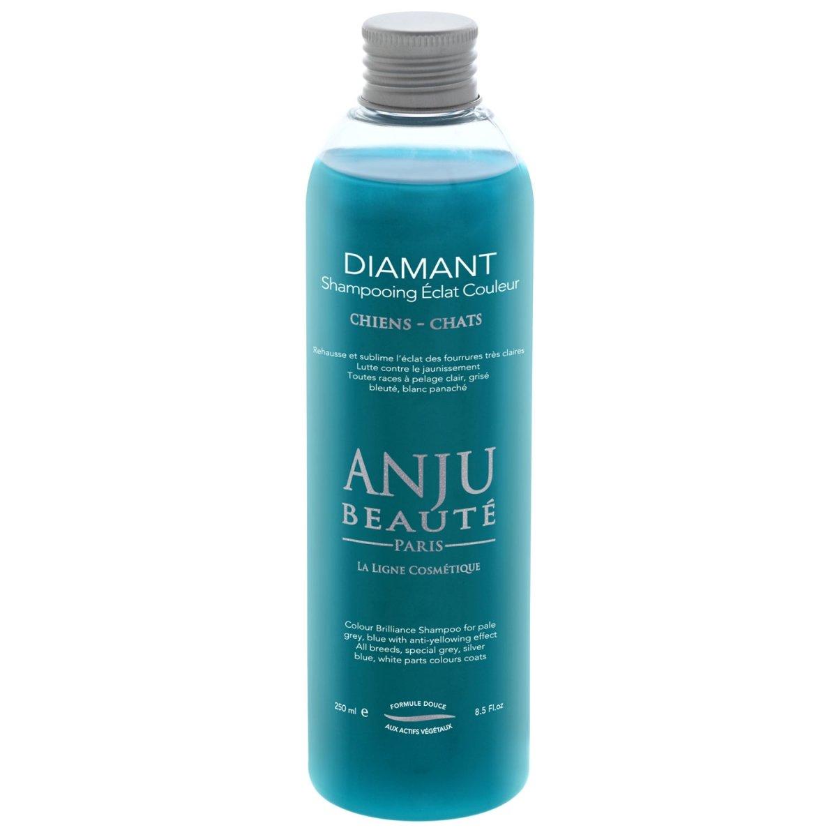 Diamant Shampooing Éclat Couleur poil gris 250ml de Anju Beaute