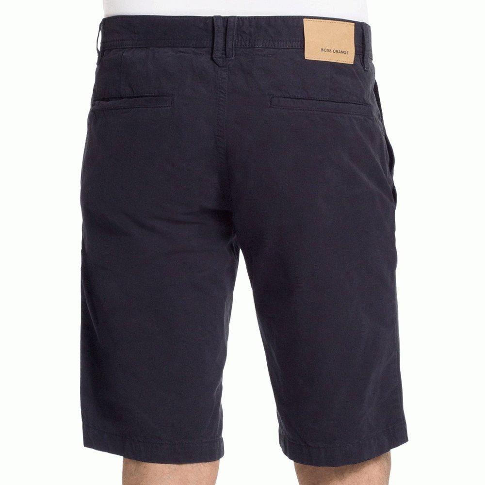 6298b8692 Hugo Boss Orange Chino Shorts Navy Blue 40: Amazon.co.uk: Clothing