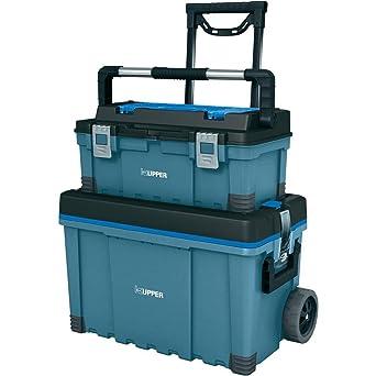 KÜPPER - Caja de herramientas con ruedas, 645 x 635 x 373 mm ...