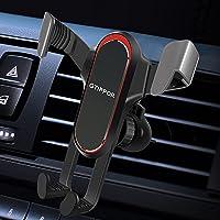 GTIPPOR Smartphone-houder voor auto, zwaartekracht telefoonhouder voor iPhone Samsung Xiaomi Huawei 4,7-7,2 inch