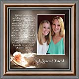 A Special Friend, Birthday Gift for Best Friend, Personalized Picture Frame for Your Forever Best Friend, 10x10 6375W