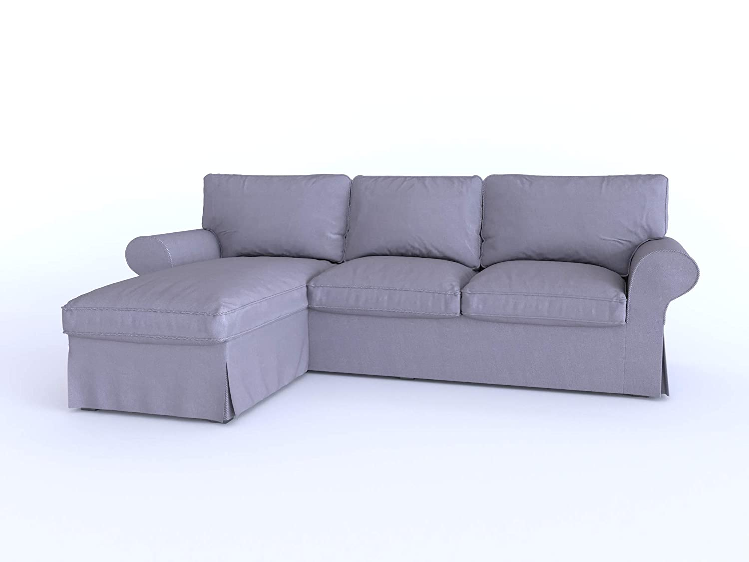 """/""""Sofa Not Included/"""" IKEA EKTORP Cover Two Seat Sofa in Various Colours"""