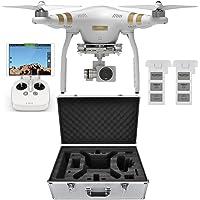 DJI Phantom 3 PRO Quadcopter Drone + 2 Batteries + Case