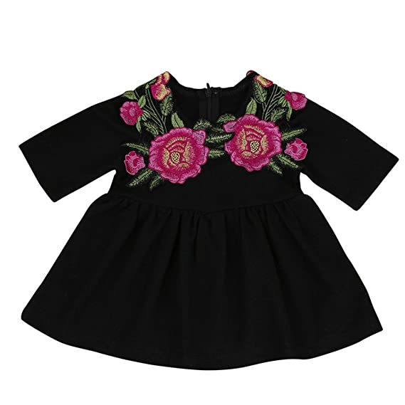 18aa7f3aa Staron Baby Boy s Rose Floral Dress Princess Party Dress Outfits ...