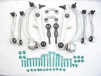 13pcs Control Arms Ball Joints Tie Rods Suspension Kit replacement for Audi A4 A6 VW Passat