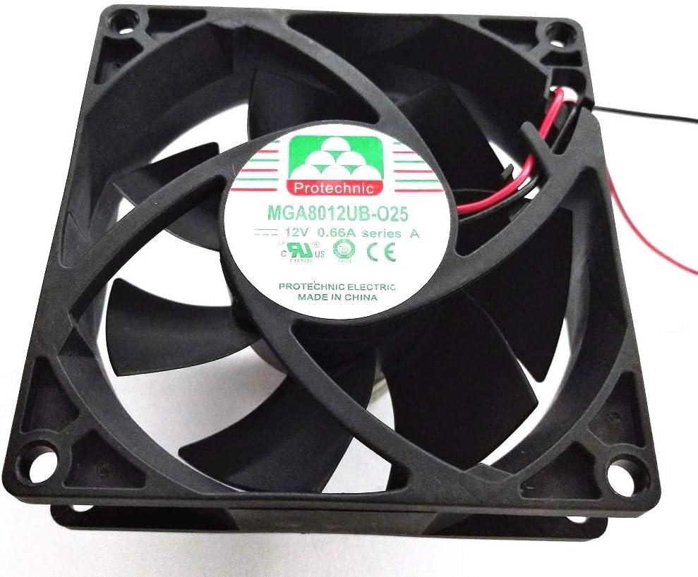 dexiang for Original Protechnic Ball DC Fan MGA8012UB-O25 12V 0.66A
