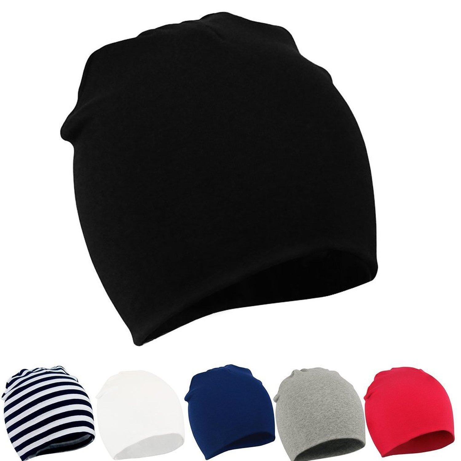 Century Star Unisex Lovely Cotton Beanie Hats for Cute Baby Boy/Girl Soft Toddler Infant Cap NCUC3S0463A0000SN