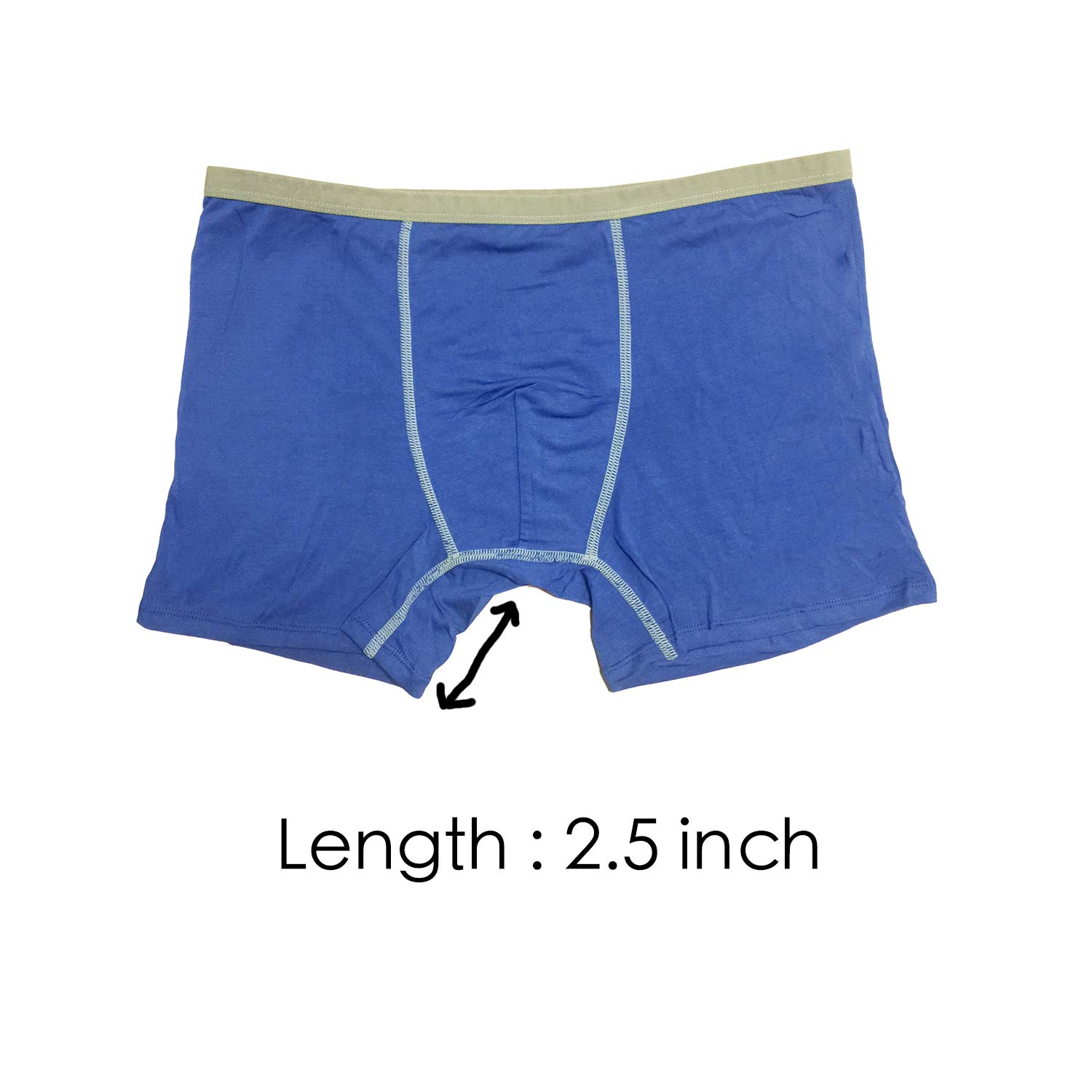 BRIGHT GG Boxer Briefs Mens Underwear Men Pack Soft Modal Healthy Breathable Underwear