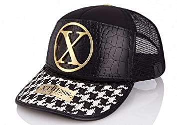 Gorra blanca y negra de la marca Xtress Exclusive. Gorra unisex: Amazon.es: Deportes y aire libre