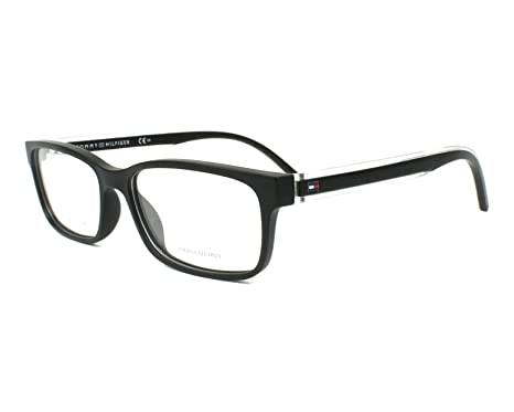 9e13a80f1e Tommy Hilfiger frame (TH-1495 807) Acetate Matt Black - Transparent ...