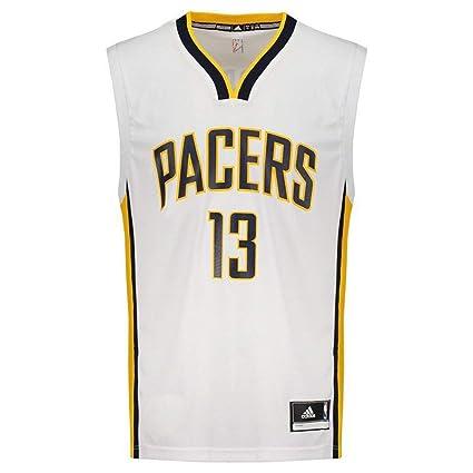 14b068d4a Camisa Regata Adidas Nba Indiana Pacers Nº 13 George  Amazon.com.br ...