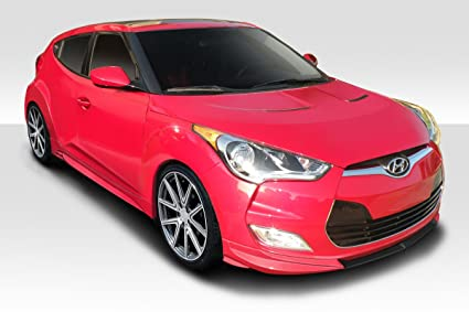 Duraflex 113100 2012-2015 Hyundai Veloster Non Turbo Duraflex N Design Body Kit - 3
