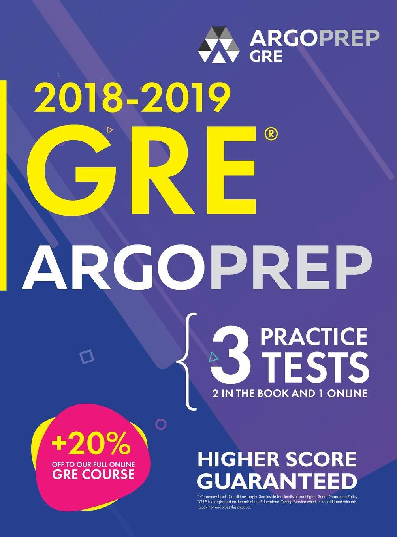 GRE by ArgoPrep: GRE Prep 2018 + 14 Days Online Comprehensive Prep Included + Videos + Practice Tests GRE Book 2018-2019 GRE Prep by ArgoPrep