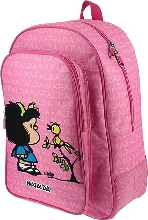 Grafoplas Mafalda 18 Sac à dos enfants, 42 cm, (Rosa)