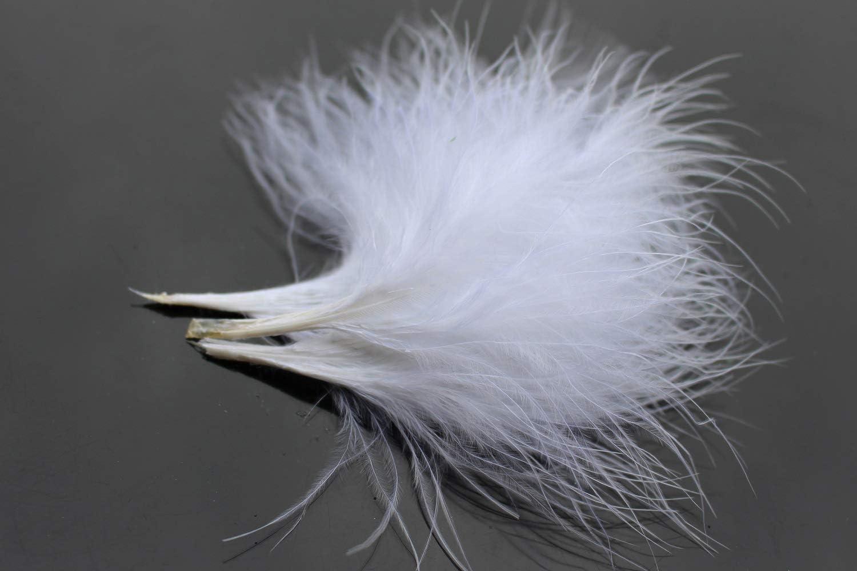 Tigofly 100 piezas//lote de 8 colores Turqu/ía Marabou plumas de sangre lanoso Bugger serpentinas para atar moscas materiales de plumas