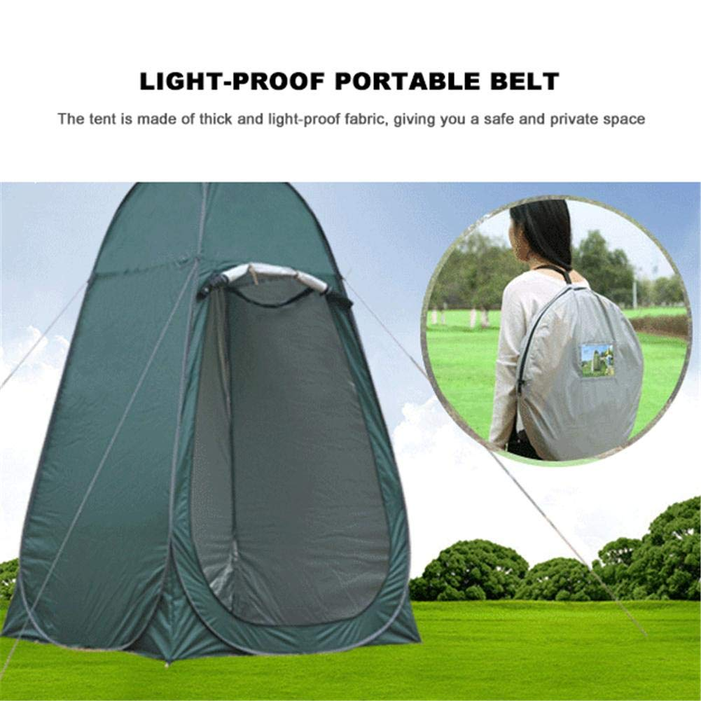 Leader Accessories Pop Up Shower Tent Dressing Tent Pod Toilet Tent Changing by Oshide (Image #5)
