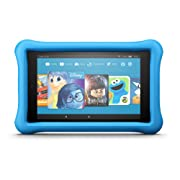 Fire HD 8 Kids Edition Tablet, 8  HD Display, 32 GB, Blue Kid-Proof Case (Previous Generation - 7th)