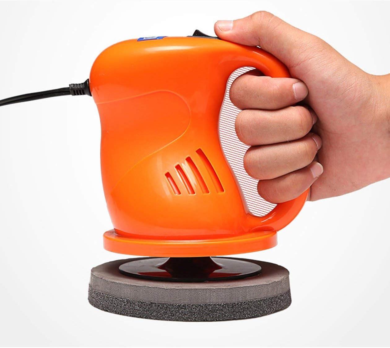 accesorios para coche enceradora pulidora de coche el/éctrico naranja M/áquina pulidora de coche de 12V 40W pulidora de coche universal