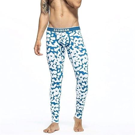 Jinqiuyuan Además geométrica largas Pantalones Hombre Atractivo ...