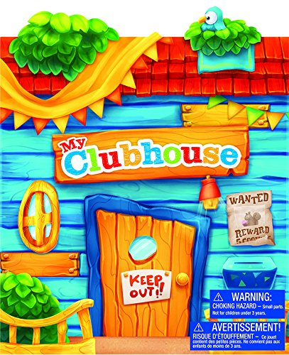 Imaginetics My Clubhouse Playset - Includes 24 Magnets ()