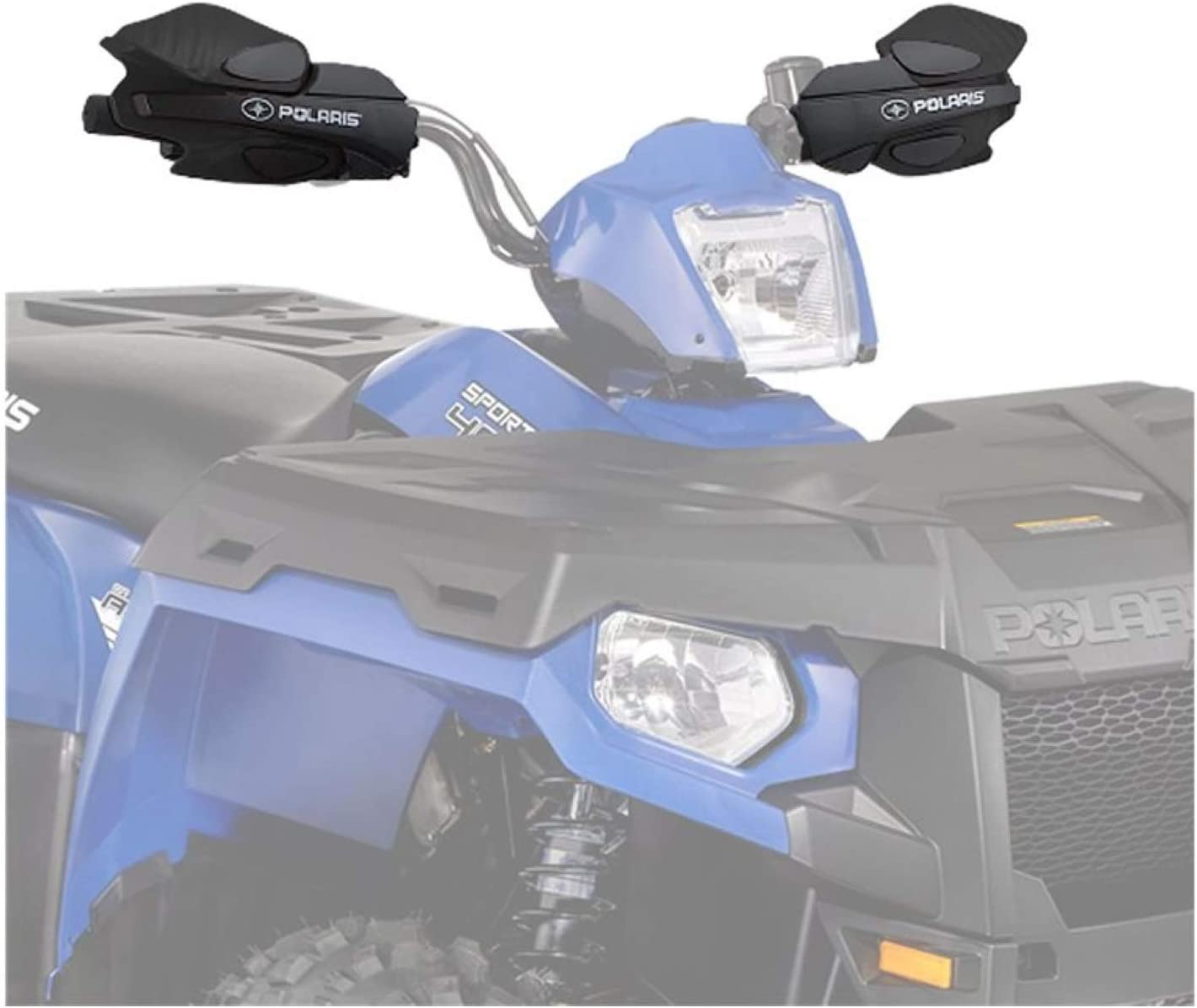 YAMAHA GRIZZLY HAND GUARDS BRUSH GUARDS WITH MOUNTS ALL YEARS BLUE