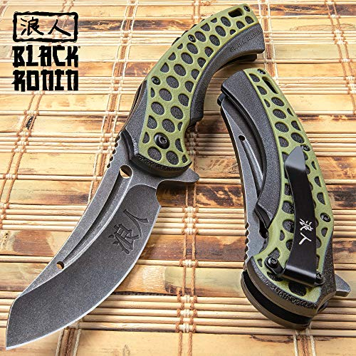 United Cutlery Black Ronin Hive Shuriken Assisted Opening Knife