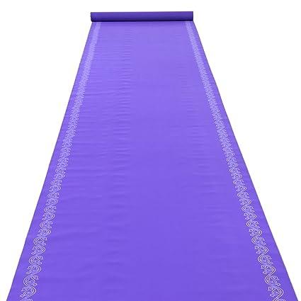 Purple Print Disposable Carpet Thickness