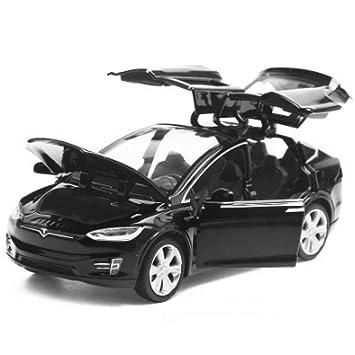 1 Metal X 32 De Qaqw Diecast Modelo Model Coche Tesla Aleación dxhCsrtQ