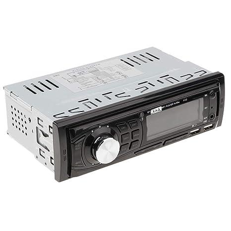 D DOLITY Autoradio Coche, Pantalla LCD, USB/SD/AUX/FM/
