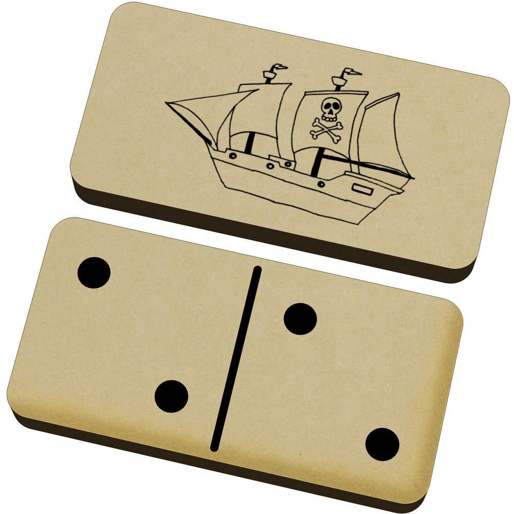 Juego Y Azeeda Dm00013303 Domino Caja Juguetes Barco Pirata Juegos rxodeCB