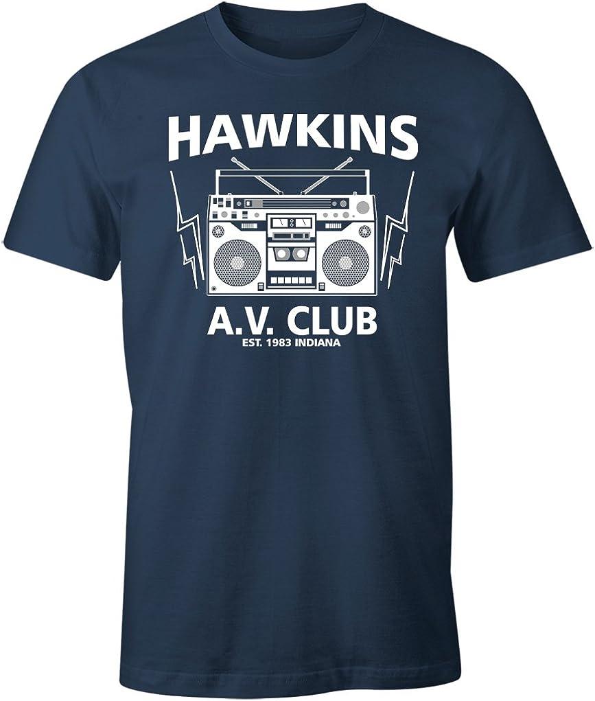 Hawkins Middle School 1983 AV Club Shirt