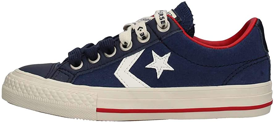 Converse Lifestyle Star Player Ev Ox, Sneakers Basses Mixte Enfant