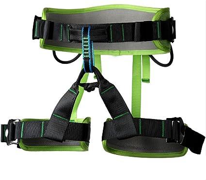 Rock Climbing Tree Surgeon Rappelling Harness Seat Safety Sitting Bust Belt